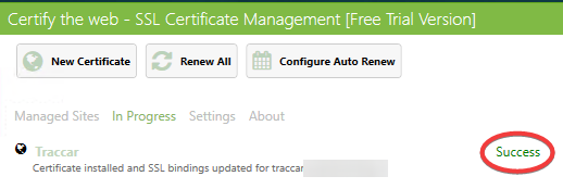 Tutorial: How to secure Traccar with HTTPS for free using
